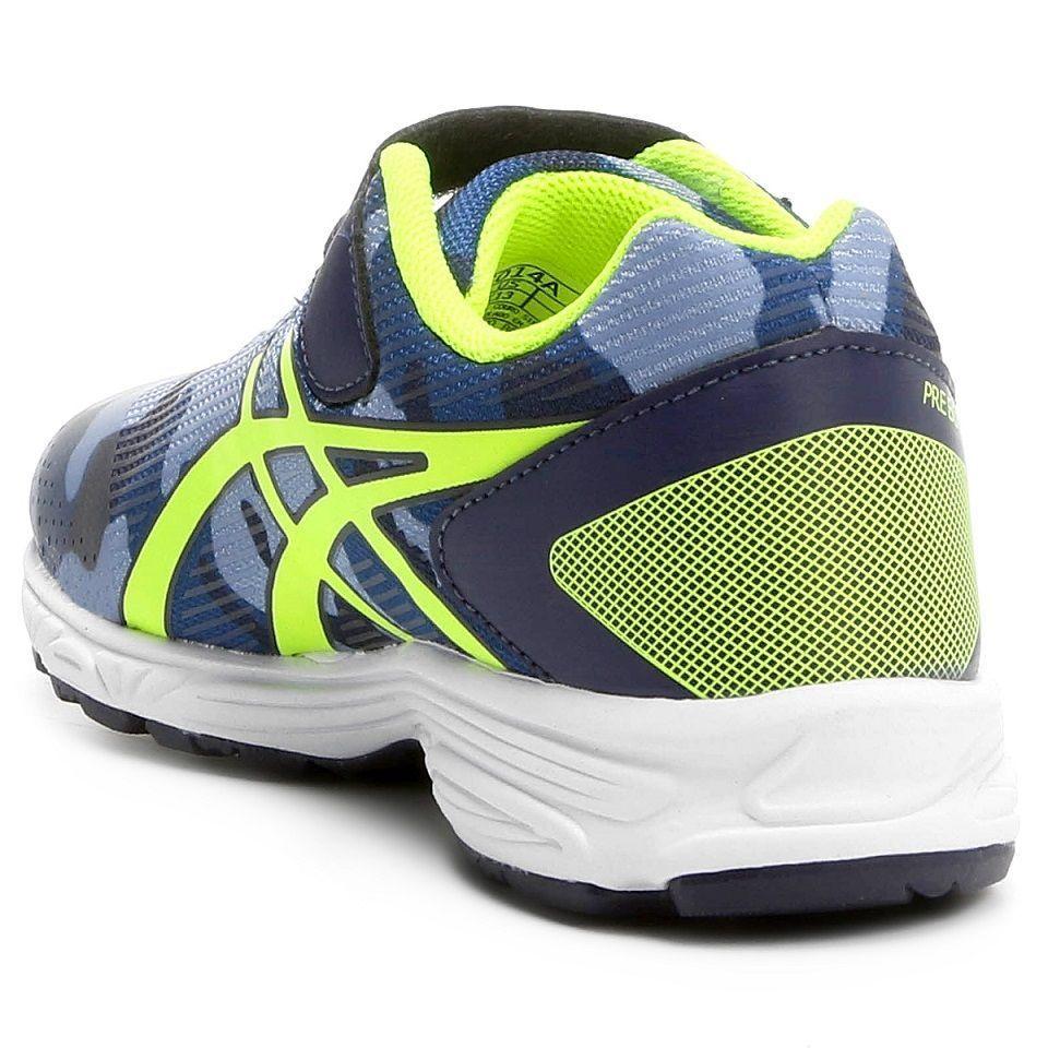 e0255cf9658 ... Tênis Infantil Asics Pre-Bounder 2 Ps Masculino   Azul - Verde ...