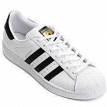 Tênis Adidas Superstar Foundation / Branco - Preto